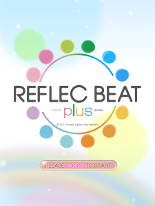Ecran titre Reflec Beat plus 4.3.0 iOS