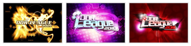 Les 3 logos de la ddr-league